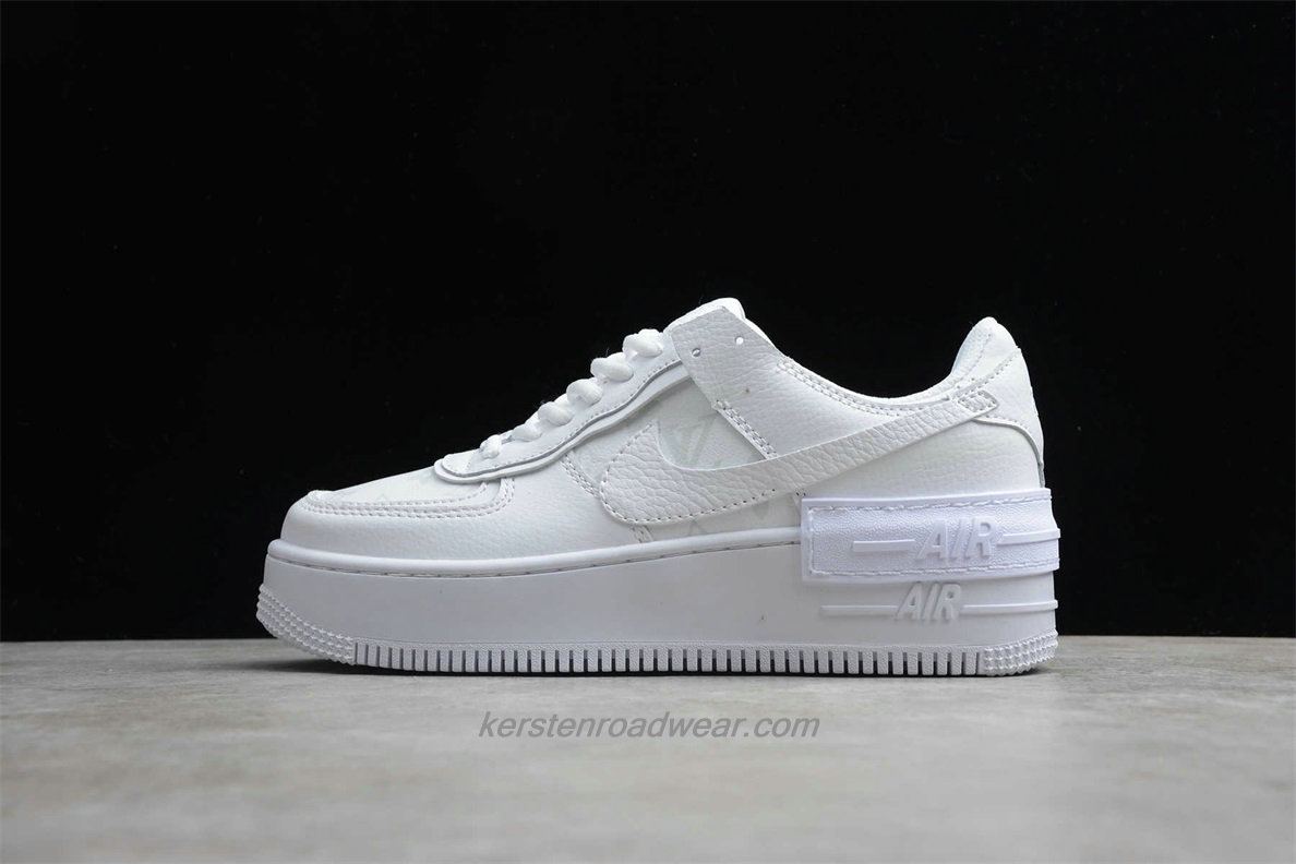 Nike Air Force 1 SHADOW SE CU4770 100 Women's White Casual Shoes