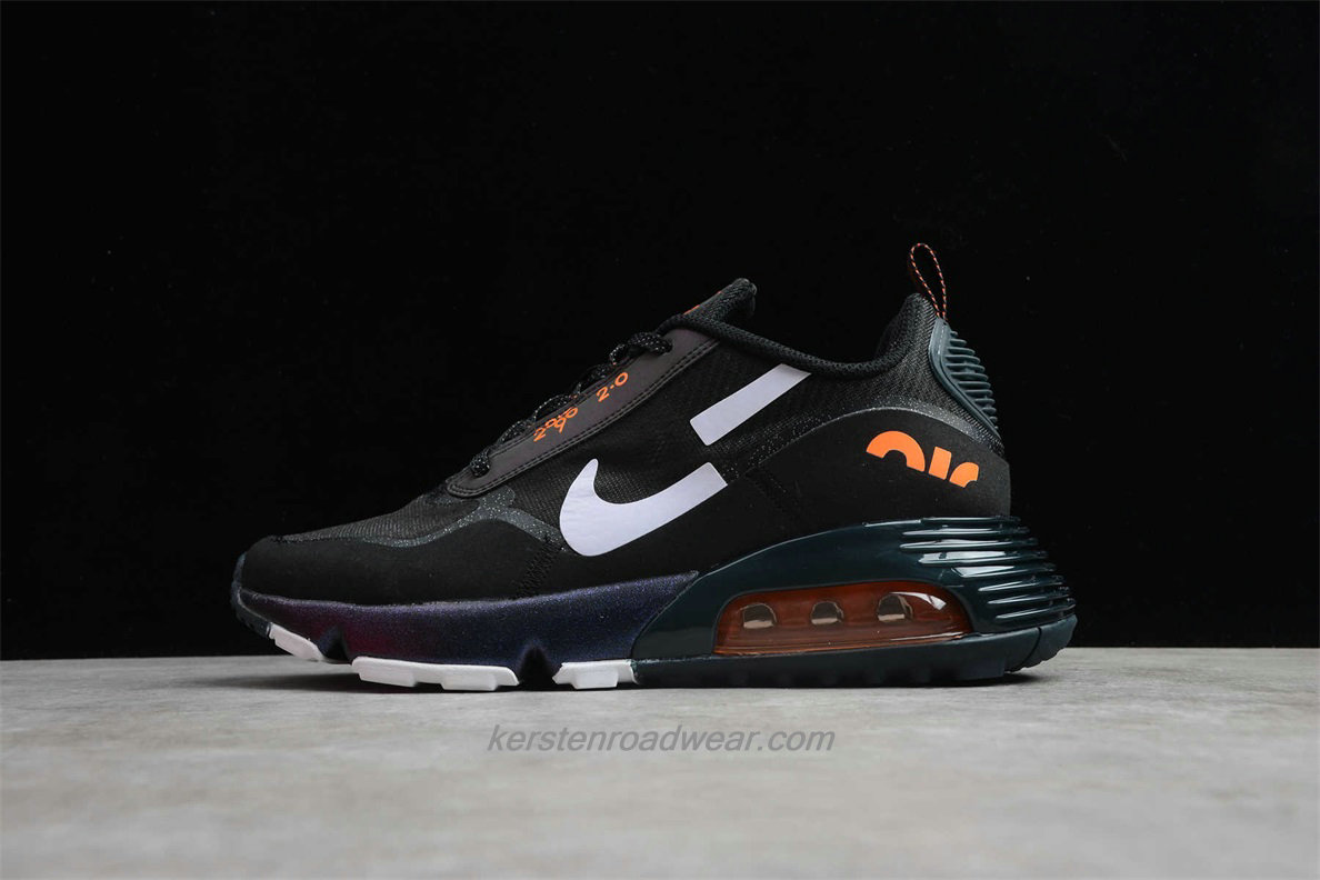 Nike Air Max 2090 2.0 BV9998 103 Unisex Black / White / Orange Running Shoes