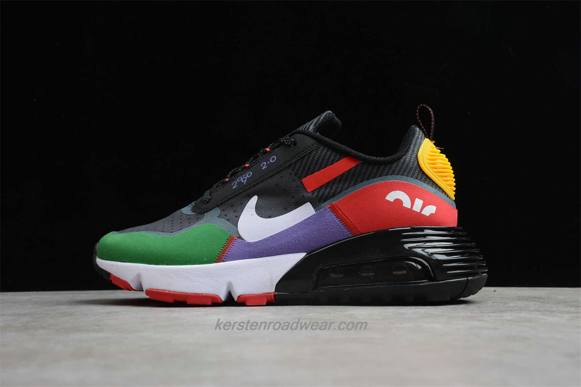 Nike Air Max 2090 2.0 BV9998 106 Unisex Grey / Green / Red / Purple Running Shoes