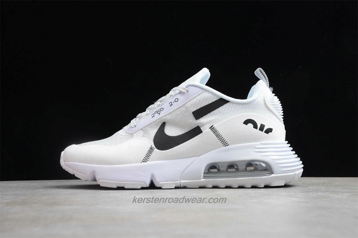 Nike Air Max 2090 2.0 BV9998 112 Unisex White / Black Running Shoes