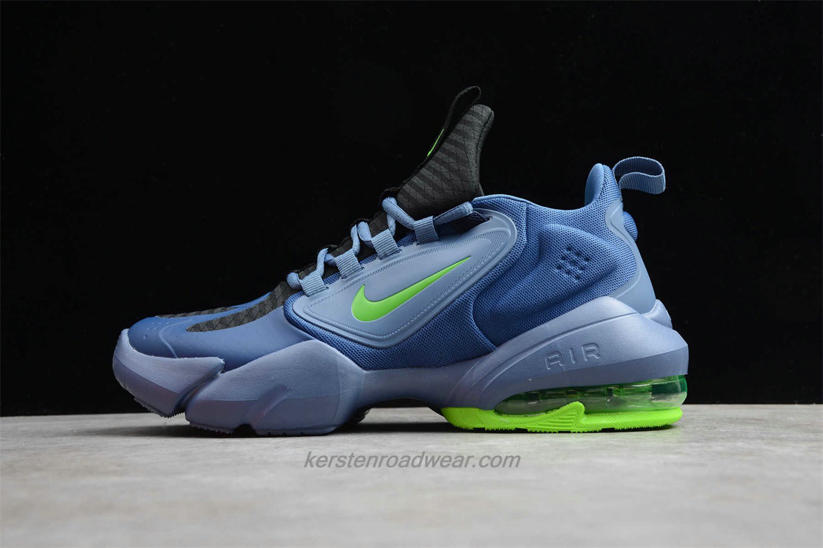 Nike Air Max Alpha Savage AT3378 034 Men's Blue / Black / Green Sport Shoes