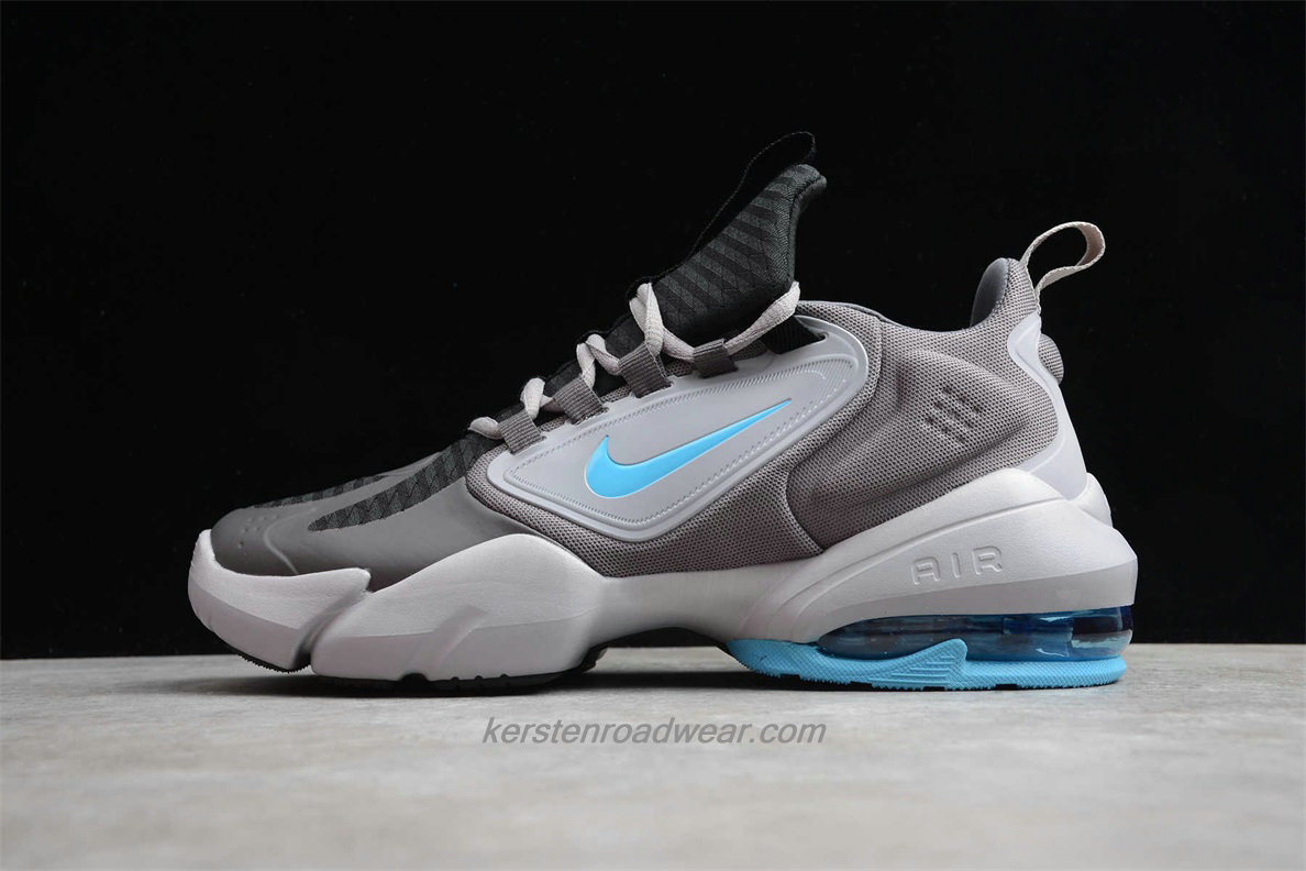 Nike Air Max Alpha Savage AT3378 040 Men's Grey / Black / Blue Sport Shoes