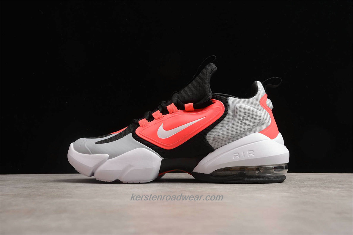 Nike Air Max Alpha Savage AT3378 060 Men's Grey / Red / Black Sport Shoes