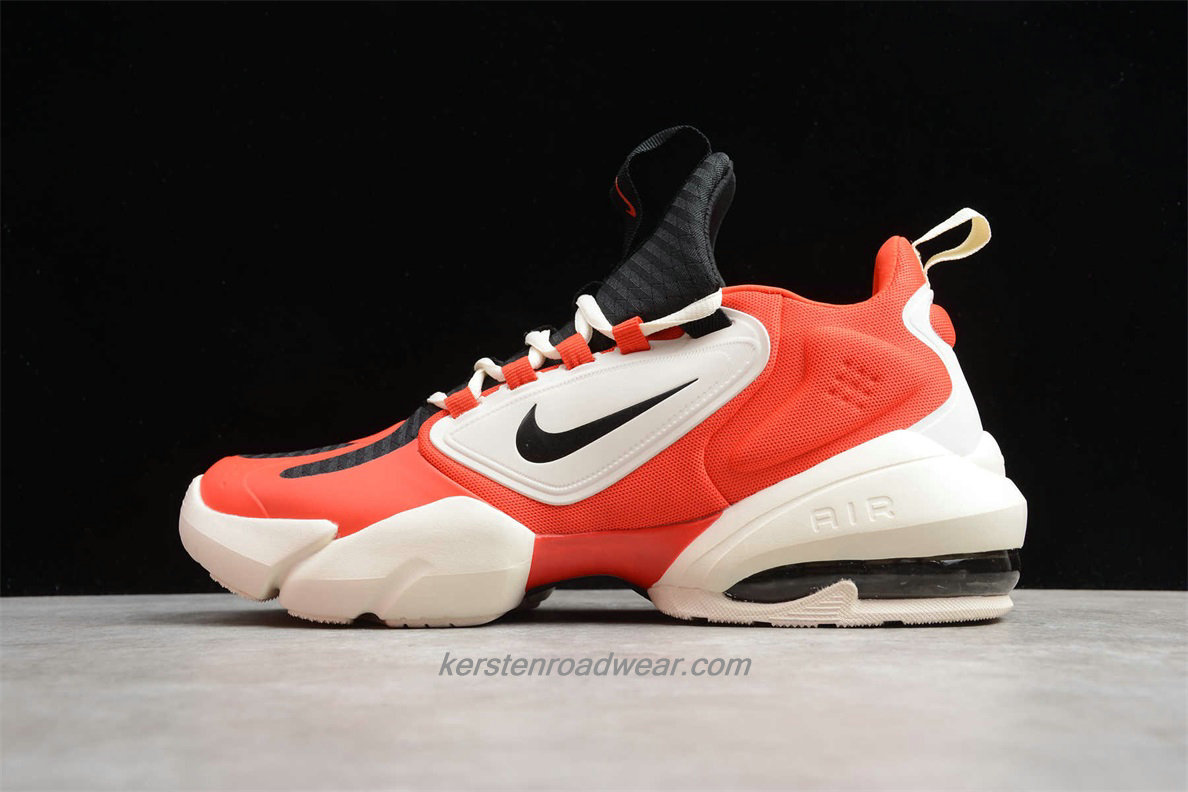 Nike Air Max Alpha Savage AT3378 301 Men's Red / Beige / Black Sport Shoes