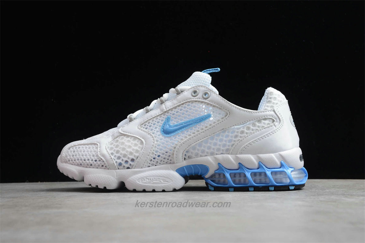 Nike Air Zoom Spiridon Cage 2 CD3613 100 Unisex White / Blue Running Shoes