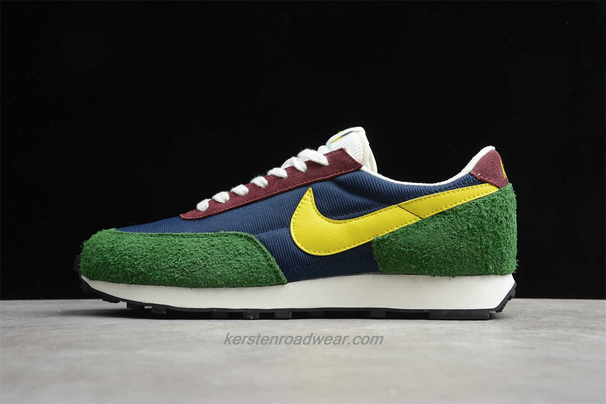 Nike Daybreak CT3441 400 Unisex Navy Blue / Green / Yellow / Bordeaux Road Running Shoes