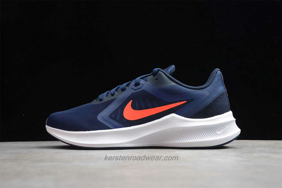 Nike DownShifter 10 CI9981 400 Men's Navy Blue / Orange Training shoes