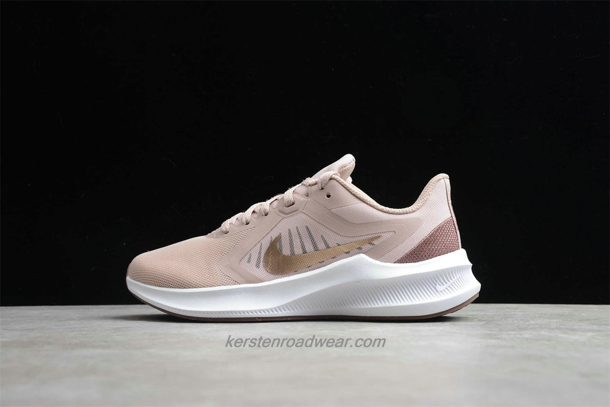 Nike DownShifter 10 CI9984 200 Women's Light Pink / Gold Training shoes