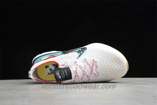 Nike React Infinity Run Flyknit CD4372 100 Unisex White / Black / Blue / Red Running Shoes