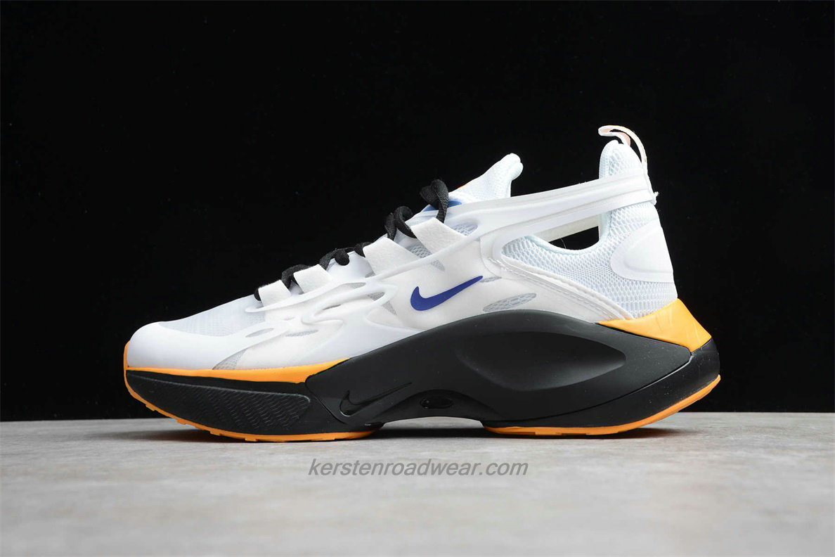 Nike Signal D/MS/X AT5303 148 Men's White / Black / Yellow Training shoes