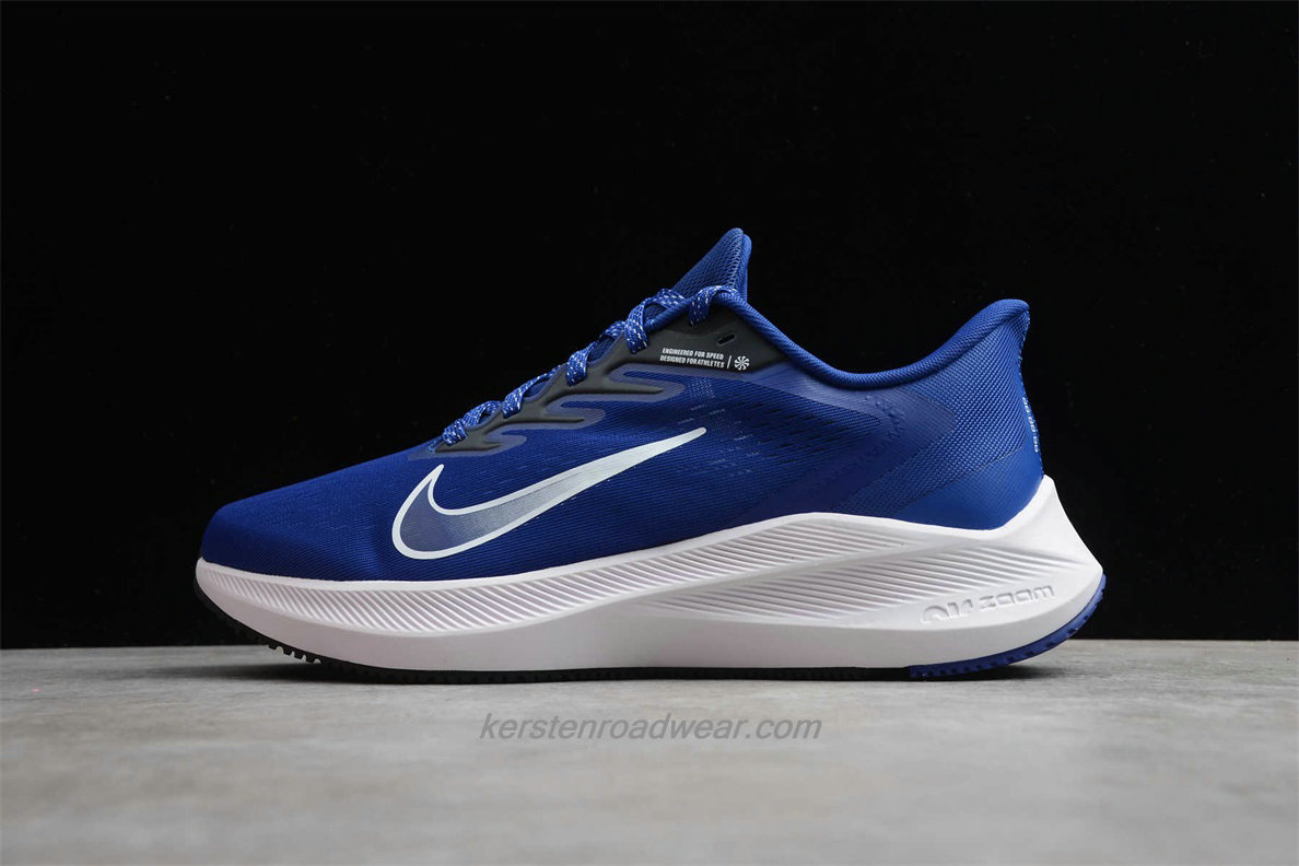 Nike Air Zoom Winflo 7 CJ0291 401 Men's Blue / White Sport Shoes