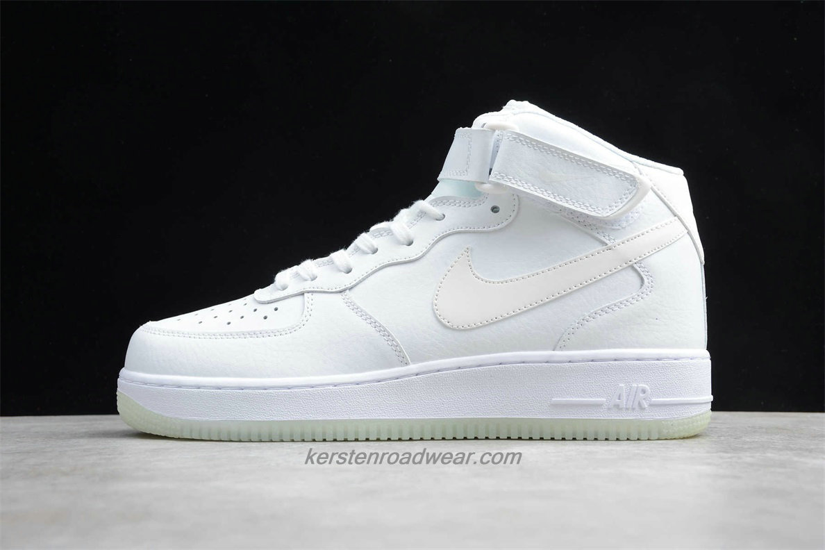 Nike Air Force 1 Mid 07 ESS A02133 101 Unisex White Shoes
