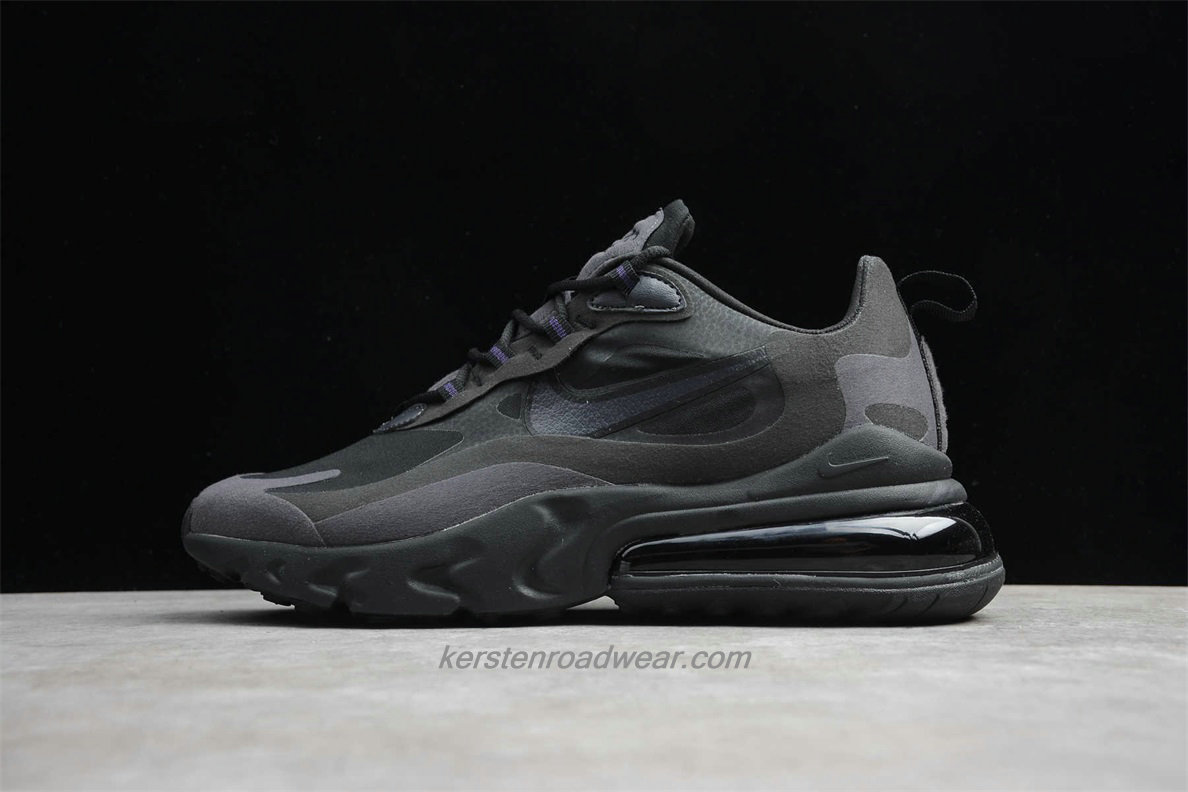Nike Air Max 270 React AO4971 003 Men's Black Shoes