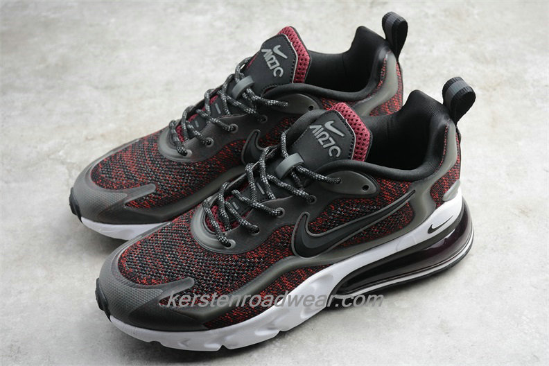 Nike Air Max 270 V2 Black Tech AO4971 105 Men's Bordeaux / Black Shoes