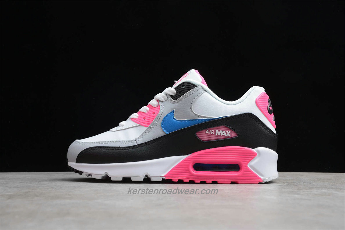 Nike Air Max 90 Essential 833376 107 Women's White / Grey / Pink / Black Lifestyle Shoes