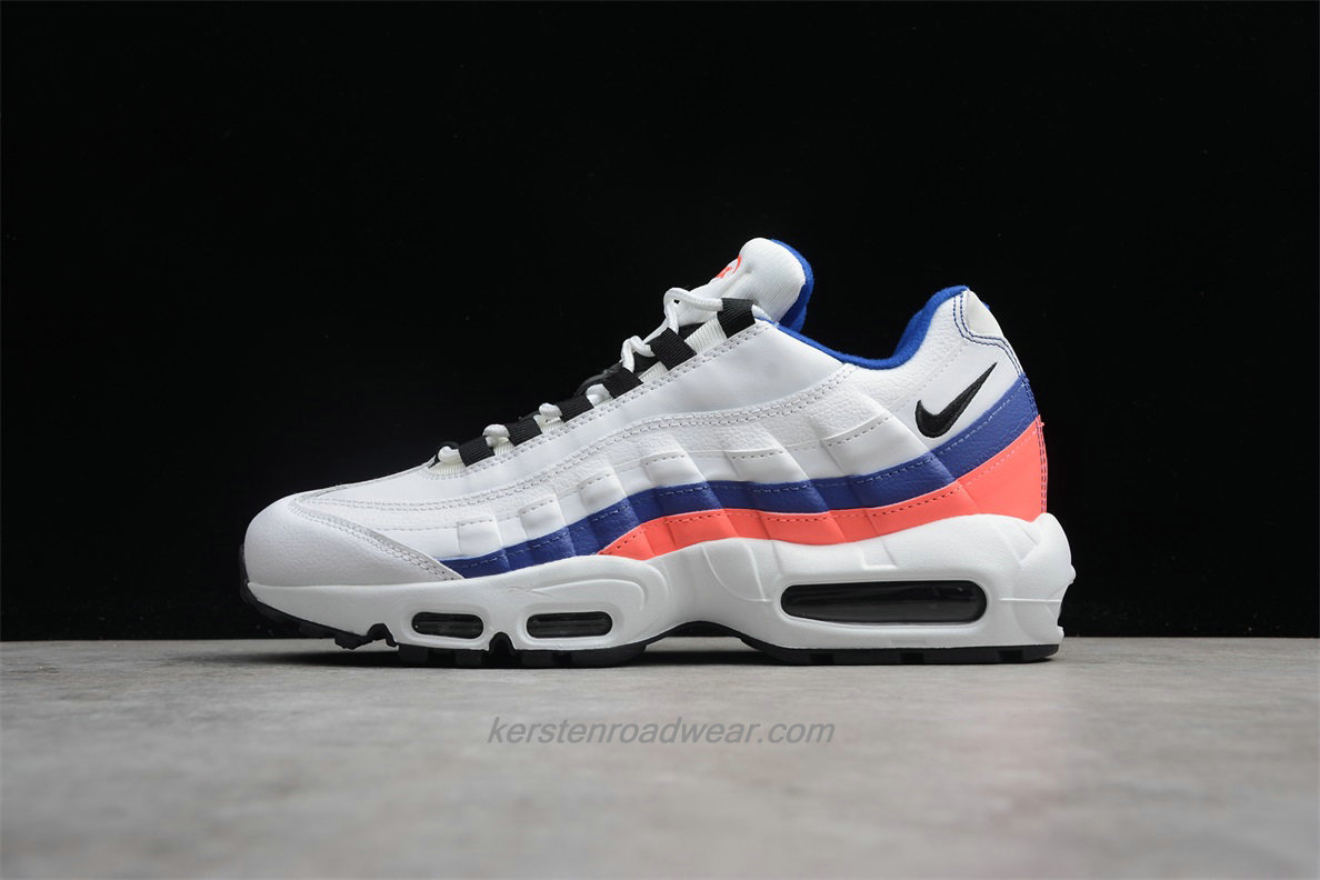 Nike Air Max 95 Essential 749766 106 Unisex White / Black / Blue / Pink Sport Shoes