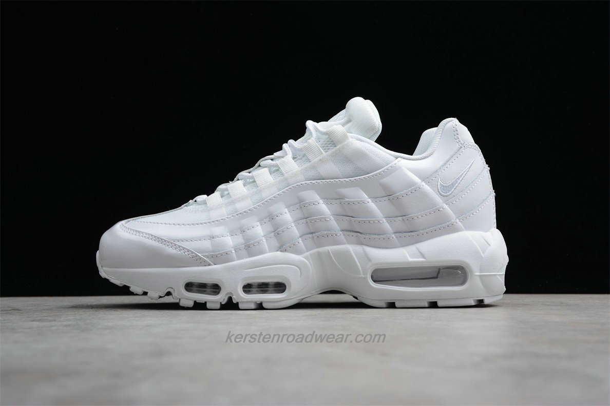 Nike Air Max 95 307960 108 Unisex White Sport Shoes