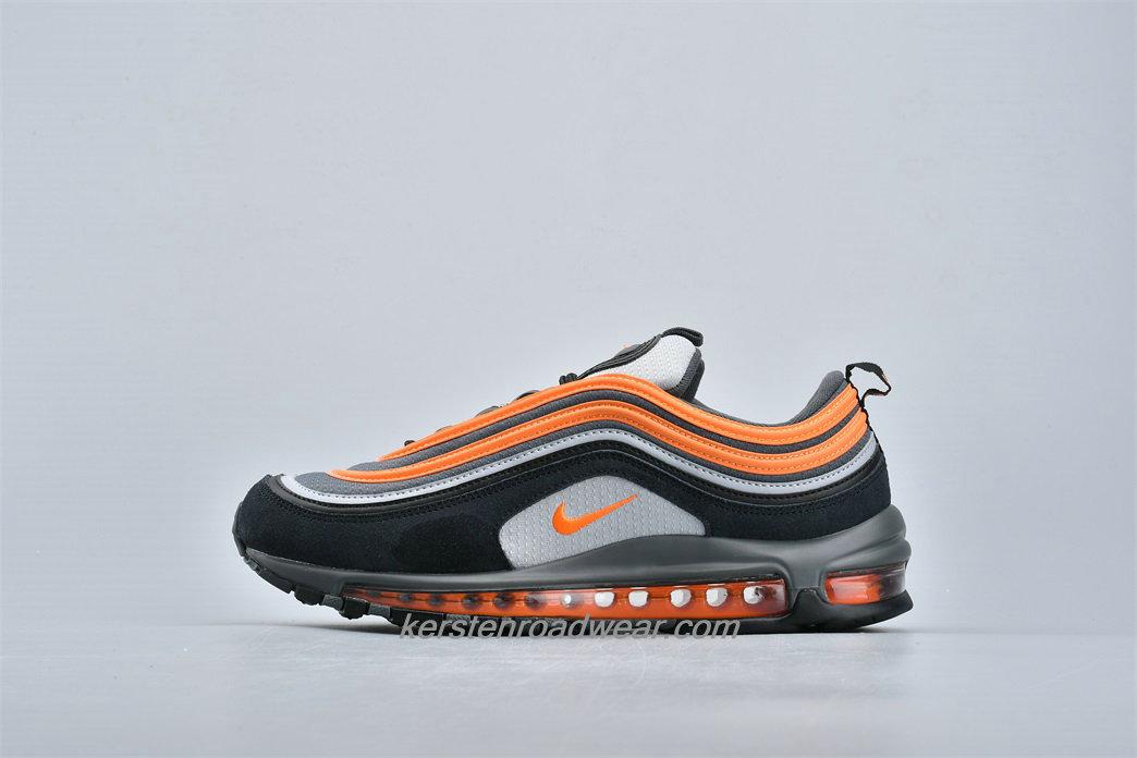black orange air max 97